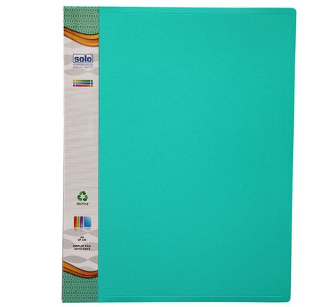 Solo Display File (20 Pockets, F/C Size, Top Loading)