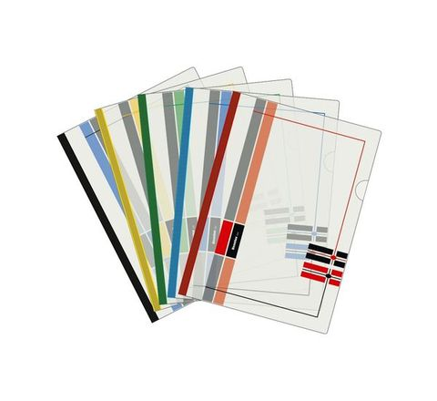 Benelux Stick File-Printed (FC, 10 Pcs)