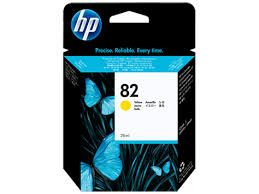 Hp 82 Yellow Ink Catridge (CH568A)