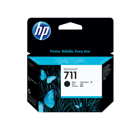 HP 711 80-ml Black DesignJet Ink Cartridge