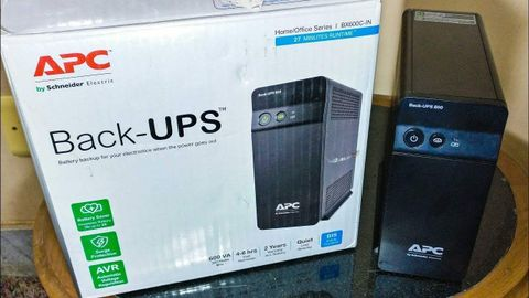 APC BX600CI-IN Back-UPS 600 VA, 230V