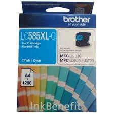 Brother LC585XLC Cyan Ink Cartridge