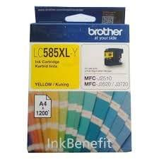 Brother LC585XLY Yellow Ink Cartridge