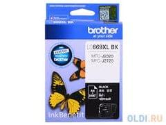 Brother LC669XLBK Black Ink Cartridge