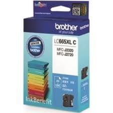 Brother LC665XLC Cyan Ink Cartridge