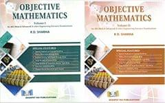 Objective Mathematics-R. D. SHARMA VOL.( 1+2 SET)