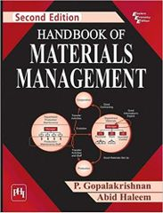 Handbook Of Materials Management 2Ed