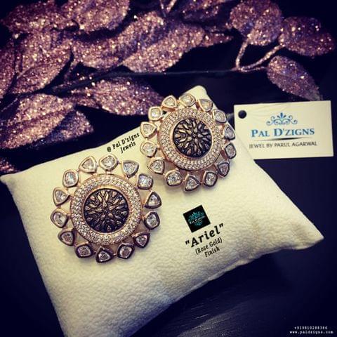 Ariel - Rose Gold Earings