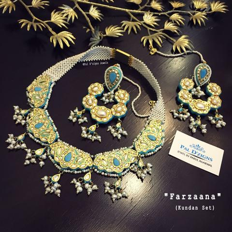 Farzaana Kundan Set