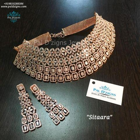 Sitaara Choker Diamond Set