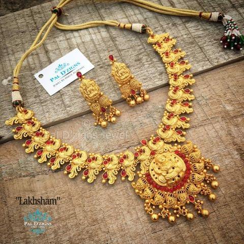 Lakhsham Temple Jewellery