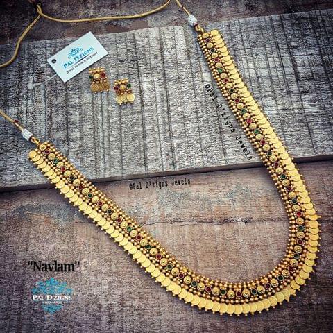 Navlam Temple Jewellery