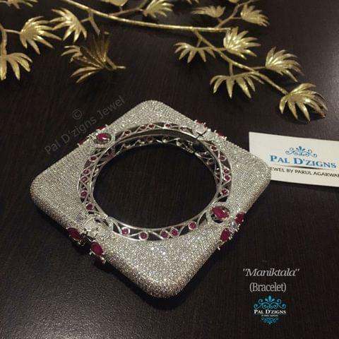 Maniktala Diamond Bracelet