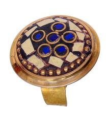 """Purpledip Vintage Collection Cocktail Ring For Women """"Olive Garden"""" (30016)"""
