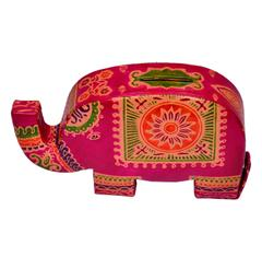 Purpledip Piggy Bank Purse Shaped as an Elephant (10598)