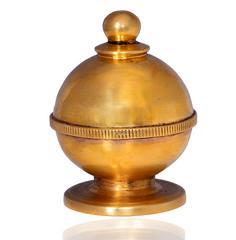 Purpledip Brass Kumkum / Sindoor Dani (10671)