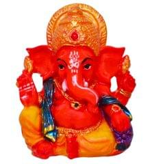 Purpledip Hindu Religious God Vinayak/Ganesha/Ganpati Statue for Car Dashboard (10677)