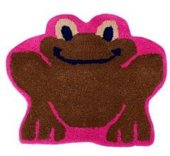 Door Mat Frog Toad Shape: Thick, Soft, Non-skid Floor Carpet Rug 10745