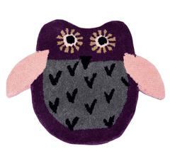 Door Mat Owl Shape: Thick, Soft, Non-skid Floor Carpet Rug 10748