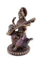 Saraswati Statue Hindu Goddess of Knowledge Music Arts Gift for School Teachers 10823