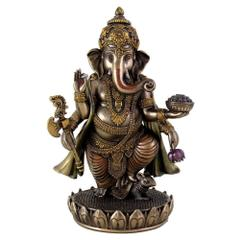 Ganesha Ganpati Vinayak Statue Idol for Home Temple Decor Indian Gift 10829