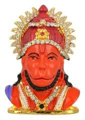 Purpledip Lord Hanuman/ Bajrangbali (Hindu Religious God) Statue Idol For Home Temple, Table Top Or Car Dashboard (11028)