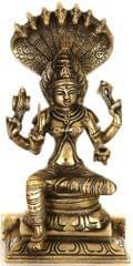 Brass Statue Arulmigu Mariamman Goddess Shakthi Devi 10840