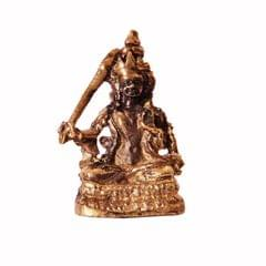 Rare Miniature Statue Gooddess Tara Holding Sword Kwan-Yin Guanyian, Unique Collectible Idol (11395)