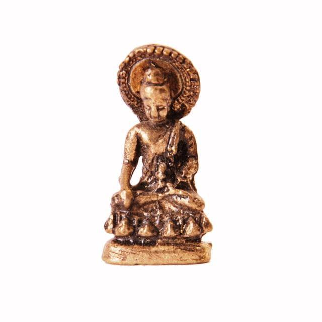 Rare Miniature Statue Gautam Buddha in Varada Mudra, Unique Collectible Gift (11400)