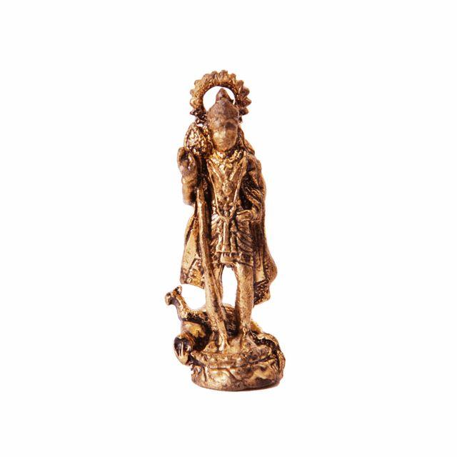 Rare Miniature Statue Murugan Karthikeya, Unique Collectible Gift (11407)