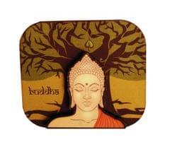 Purpledip Wooden Fridge Magnet: Bodhi Tree (11460)