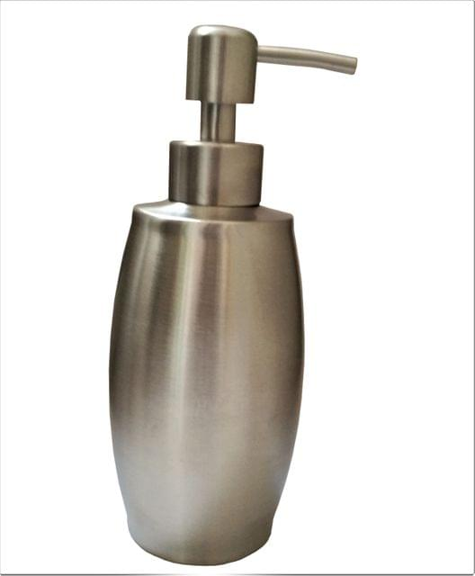 Purpledip Metallic Liquid Soap Dispenser (11522)