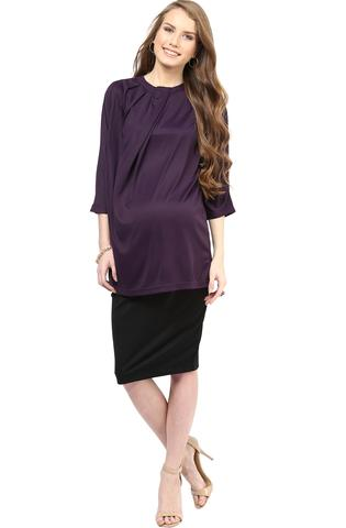 Maternity Skirt Black Elegance