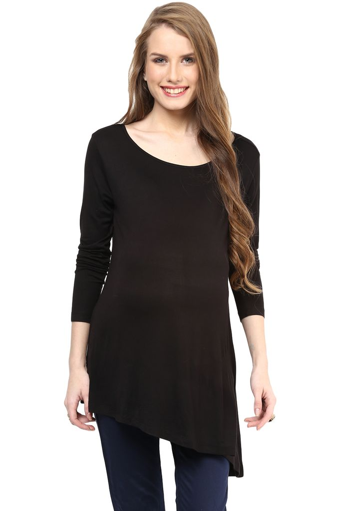 Maternity Top Stylish Black