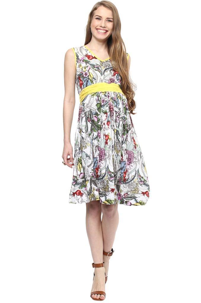 Maternity Dress Short Bohemian
