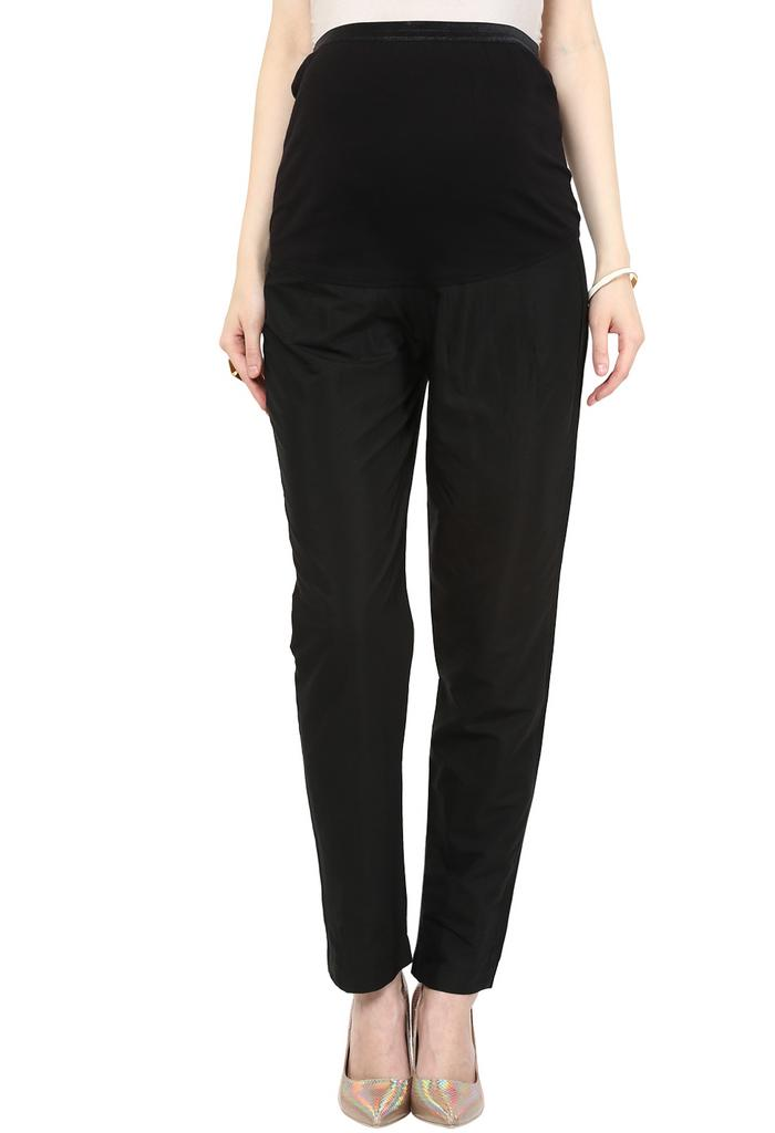 Maternity Pants Indian Black