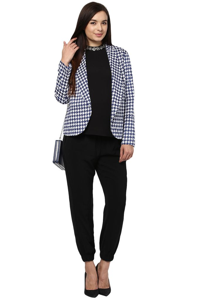 Maternity Jacket - Houndstooth