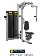 Body Strong BTM Series Pecdec and Rear Delt_BTM-002A