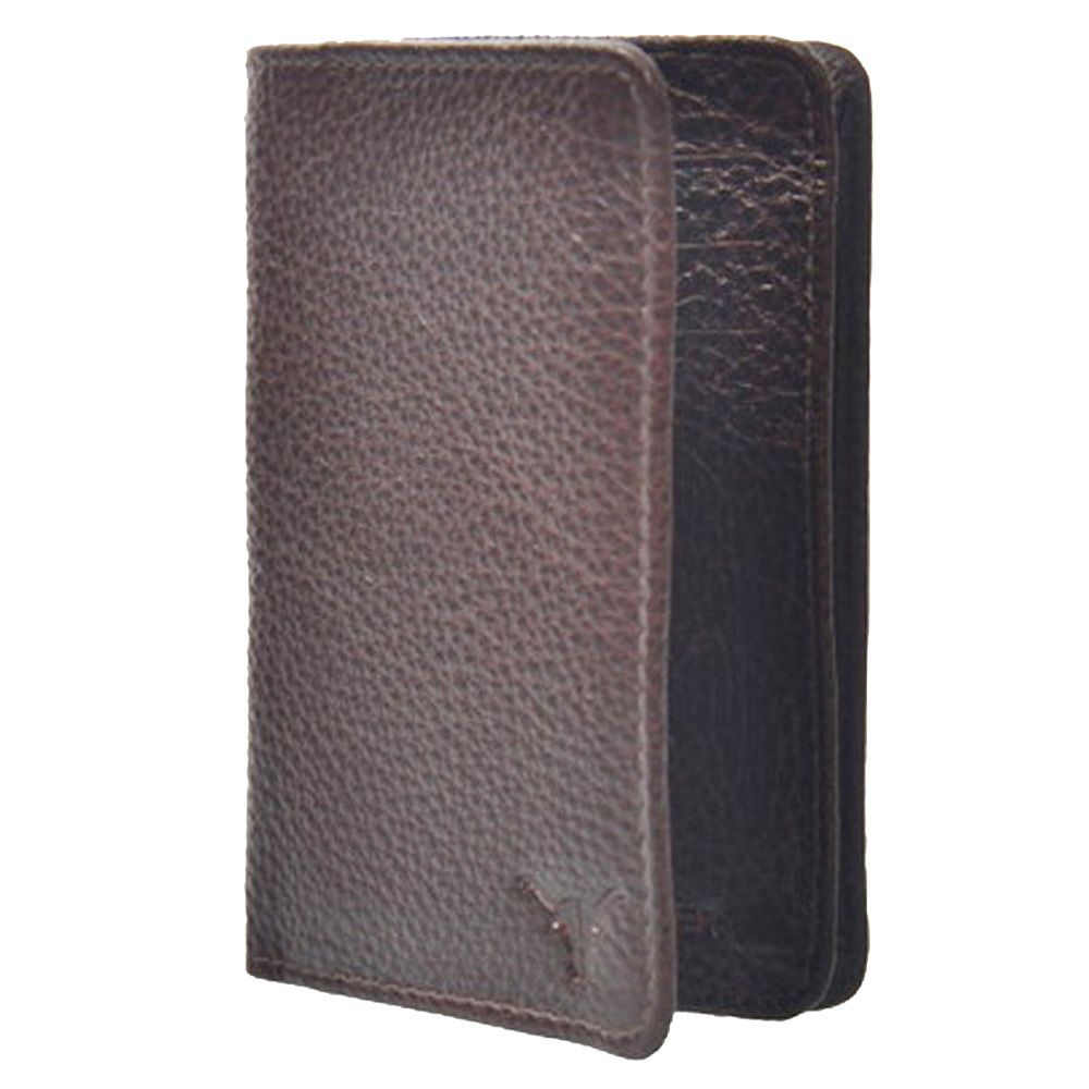 Hidekraft Leather Card Holder ,CHBRPU1069 Brown