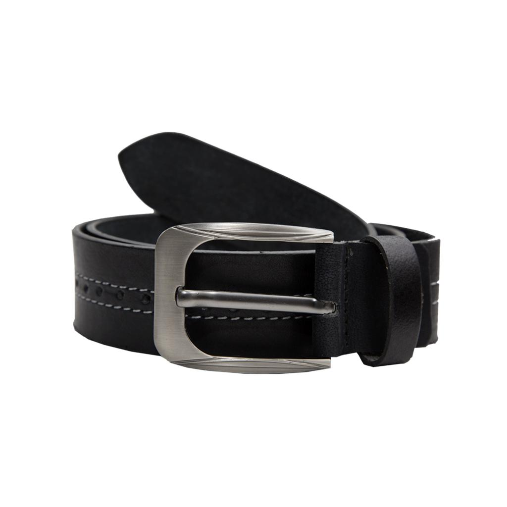 Hidekraft Genuine Leather Mens Casual Belt, BTMCAS0107, Black