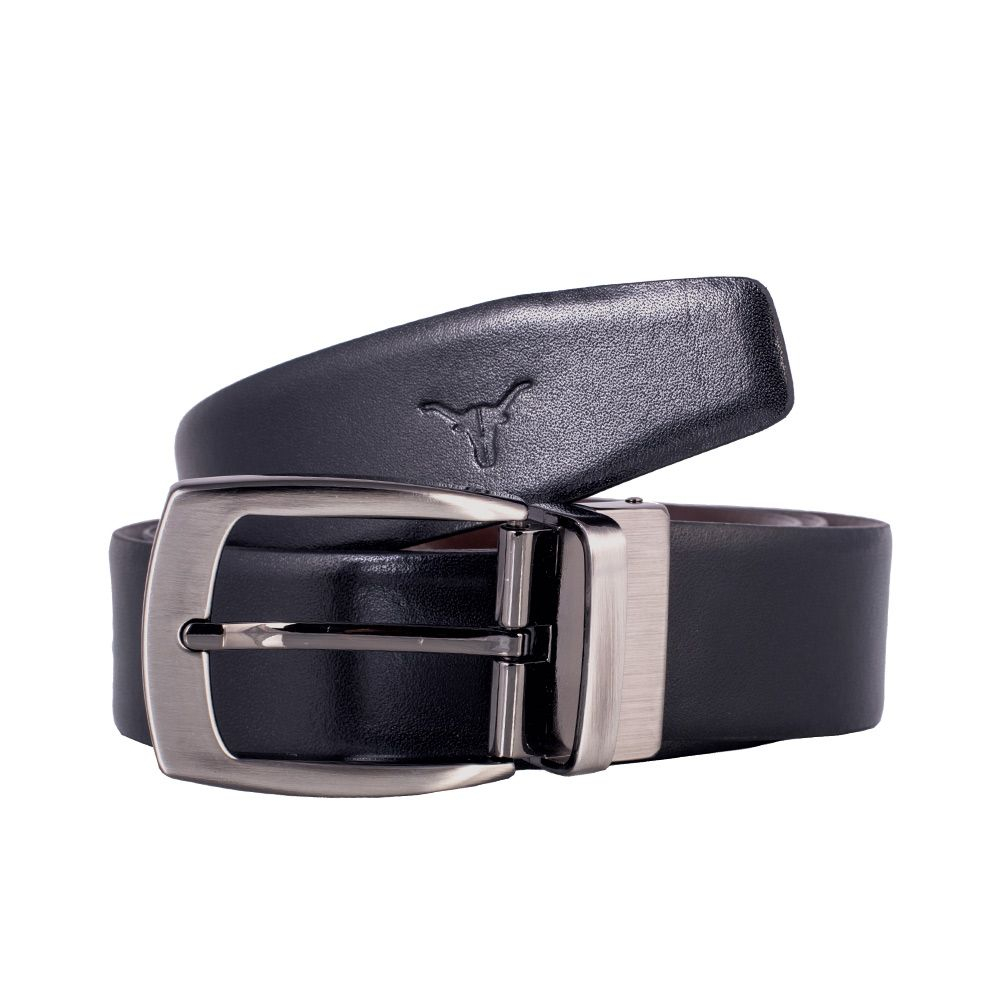 Hidekraft Genuine Leather Mens Formal Belt, BTBLMT0171, Black