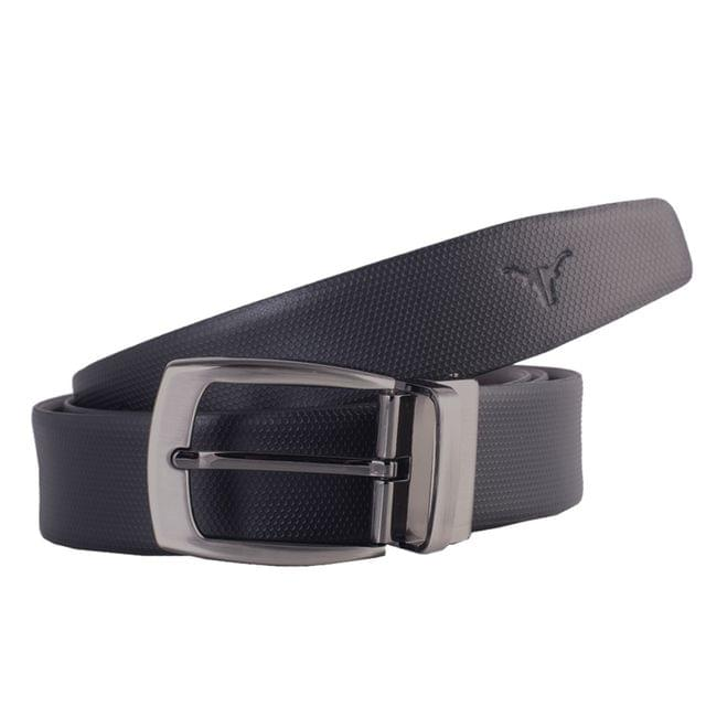 Hidekraft Genuine Leather Mens Formal Belt, BTBLPF0173, Black