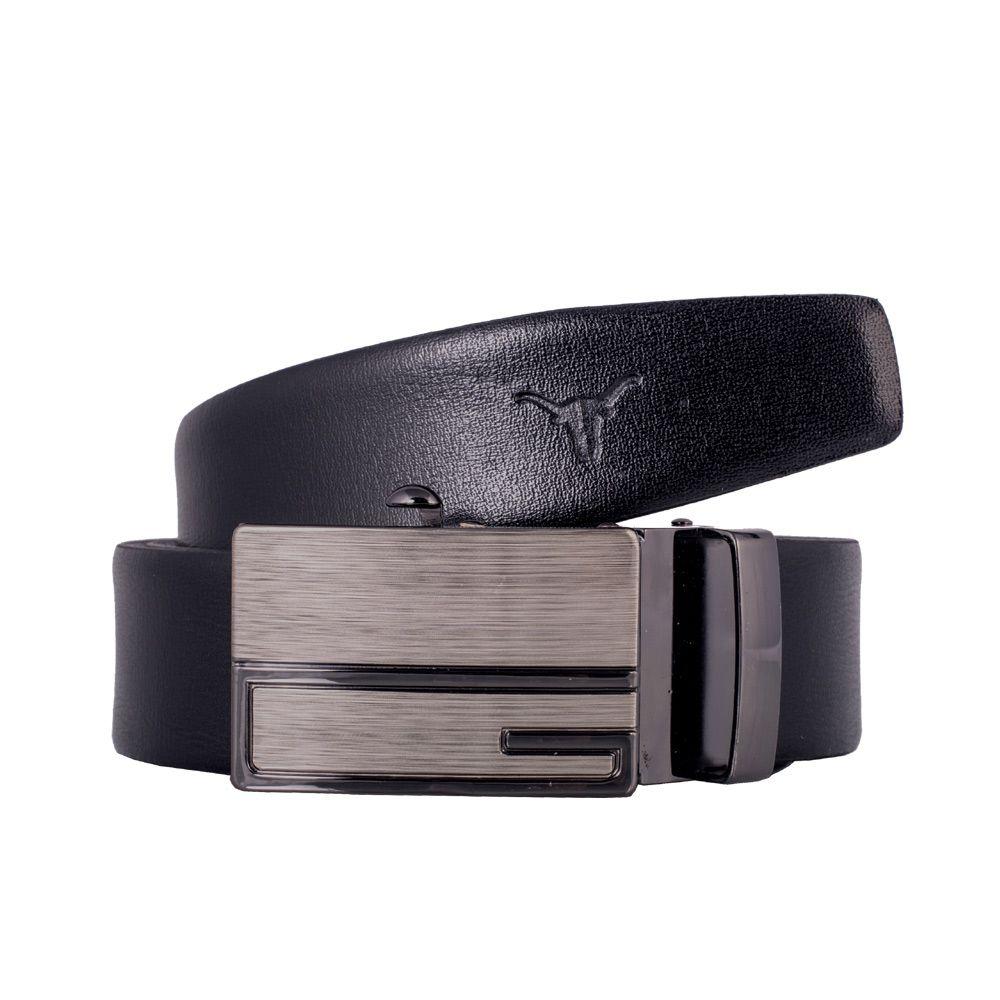 Hidekraft Genuine Leather Mens Formal Belt, BTBLTR0178, Black