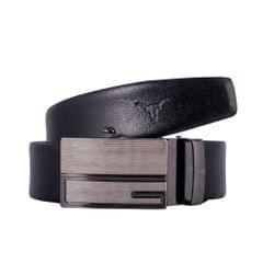 Hidekraft Genuine Leather Mens Formal Belt, BTBLTR0178, Black
