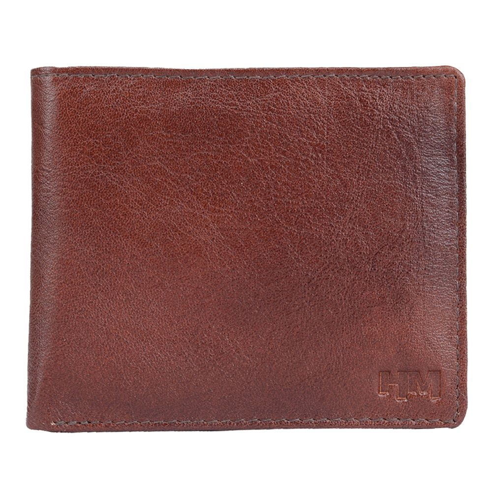 Hidemaxx Men's Leather Wallet ,WLBRPU0114X Brown