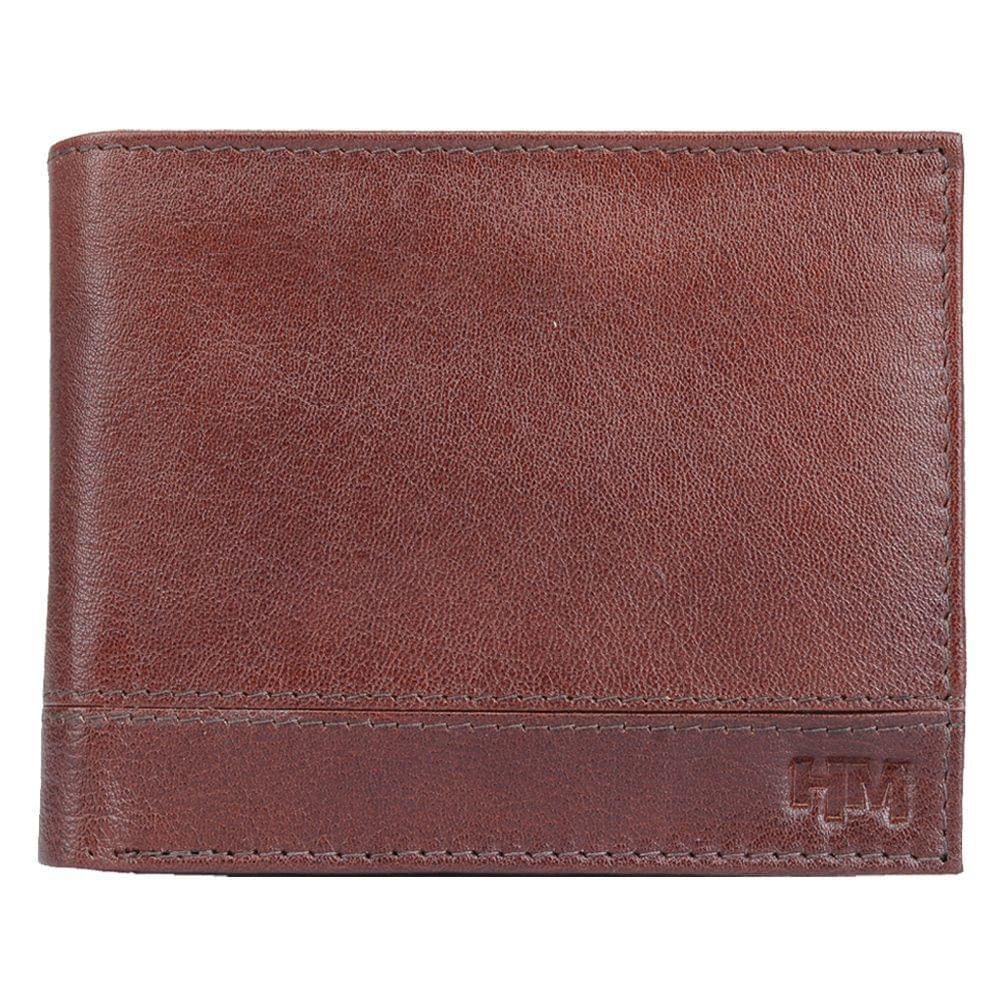 Hidemaxx Men Leather Wallet ,WLBRPU0110X Brown