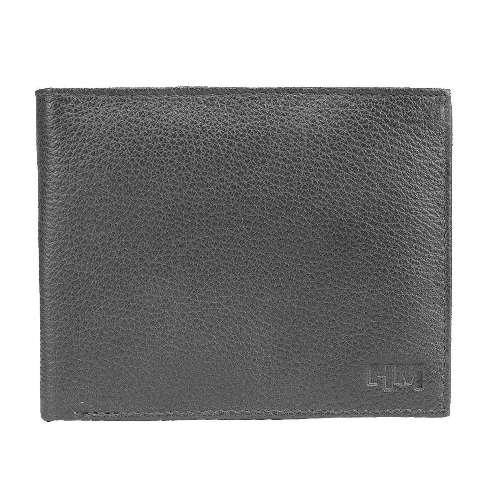 Hidemaxx Men's Leather Wallet ,WLBLPU0119X Black