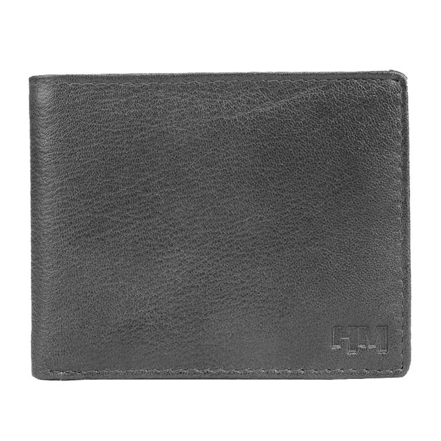 Hidemaxx Men's Leather Wallet ,WLBLPU0118X Black