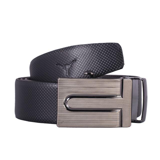 Hidekraft Genuine Leather Mens Formal Belt, BTBLGR0179 Black