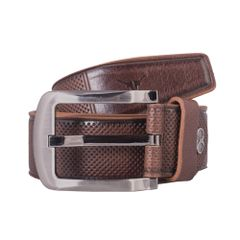 Hidekraft Genuine Leather Mens Casual Belt, BTMCAS0101 Brown